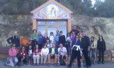 Un total de 24 senderistas participan en una ruta por la pedanía murciana de Beniaján