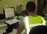 La Guardia Civil detiene en Mazarrón al presunto autor de una serie de estafas por internet