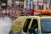 La carrera de atletismo Subida a La Santa obligará a cortar temporalmente la Plaza de la Constitución y la carretera de La Santa