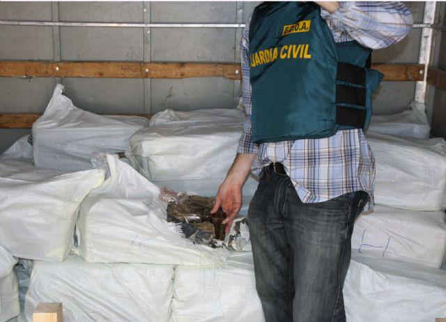 La Guardia Civil desarticula una activa red de tráfico de drogas entre Marruecos y el Levante español, Foto 4