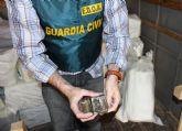 La Guardia Civil desarticula una activa red de tráfico de drogas entre Marruecos y el Levante español
