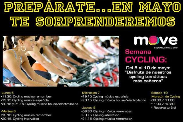 Move organiza 4 semanas temáticas durante el mes de mayo, Foto 1