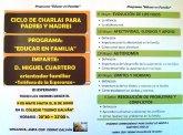 """El AMPA del CEIP Tierno Galván organiza un ciclo de charlas """"Educar en familia"""""""