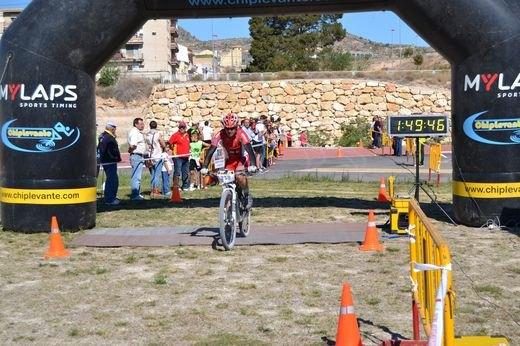 El Club Ciclista Santa Eulalia disputa la V marcha BTT Valle de Elda-Petrer, Foto 1