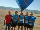 Atletas del Club de atletismo de Totana participaron en la Carrera por montaña el Valle Trial