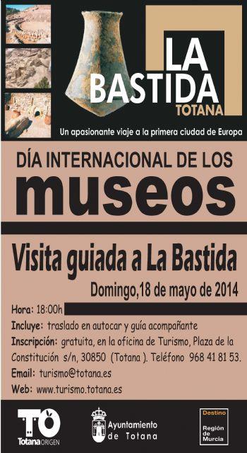 Turismo celebra el Día Internacional de los Museos con una jornada de puertas abiertas y visitas guiadas al yacimiento de La Bastida, Foto 1