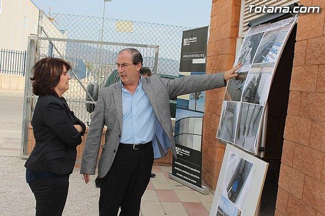 Se procede a la reparación y acondicionamiento de la estación de bombeo de aguas del polígono industrial El Saladar, Foto 1