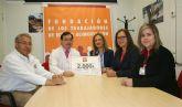 Los trabajadores de ELPOZO ALIMENTACI�N donan 2.000 euros para ayudar a curar a drogodependientes