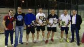 La pareja formada por Méndez y José campeona de la liga local de pádel