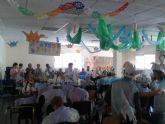 Los usuarios del Centro de D�a tambi�n celebran Los Mayos