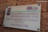 Se procede a la reparación y acondicionamiento de la estación de bombeo de aguas del polígono industrial El Saladar - 16