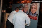 Se celebra la tradicional pegada de carteles con la que arranca de forma oficial la campaña electoral para las europeas - 22