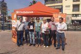 Ciudadanos (C's) lleva un mensaje de regeneración a Mazarrón
