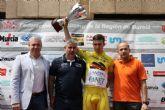 Competida y dura 3ª etapa de la III Vuelta Ciclista Ruta de Cadetes a la Región de Murcia