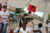 Los alumnos del Colegio Reina Sofía han promocionado y vendido los productos de sus jóvenes empresas en el mercadillo semanal de Totana - 3