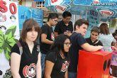 Los alumnos del Colegio Reina Sofía han promocionado y vendido los productos de sus jóvenes empresas en el mercadillo semanal de Totana - 10
