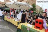Los alumnos del Colegio Reina Sofía han promocionado y vendido los productos de sus jóvenes empresas en el mercadillo semanal de Totana - 12