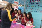 Los alumnos del Colegio Reina Sofía han promocionado y vendido los productos de sus jóvenes empresas en el mercadillo semanal de Totana - 15