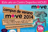 Campus de Verano 2014 Move, desde 23 de junio al 31 de Julio, para niñ@s de entre 3 y 14 años.