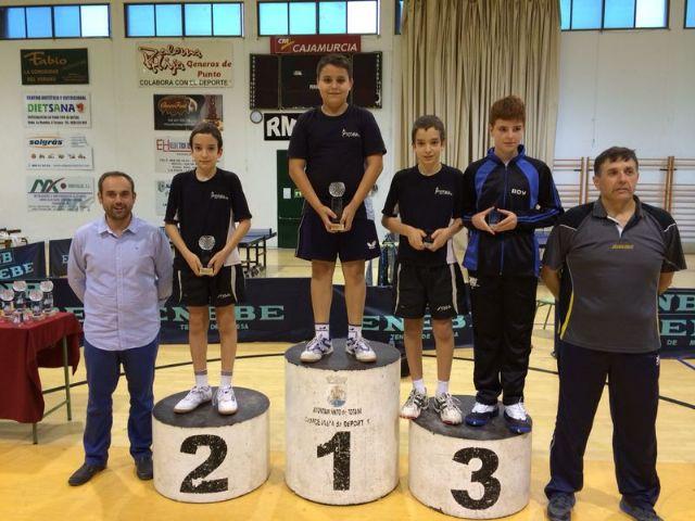 Totana acogió el Campeonato Autonómico Individual de todas las categorías de Tenis de Mesa, Foto 2
