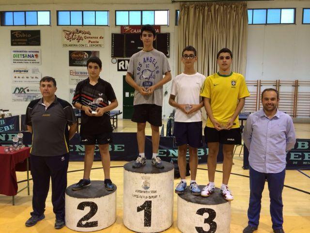 Totana acogió el Campeonato Autonómico Individual de todas las categorías de Tenis de Mesa, Foto 4