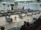 Totana acogió el Campeonato Autonómico Individual de todas las categorías de Tenis de Mesa