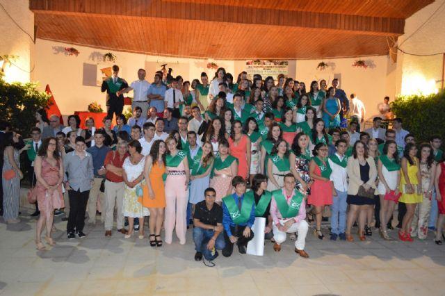 Autoridades municipales asisten al acto de clausura de segundo curso de bachillerato del IES Juan de la Cierva, Foto 1