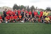 La corporación de Totana se enfrentó a la alhameña en un partido de fútbol