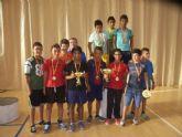 La concejal�a de Deportes llev� a cabo la entrega de trofeos de la fase local de multideporte, baloncesto, balonmano y futbol sala, de Deporte Escolar - 9