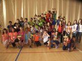 La concejal�a de Deportes llev� a cabo la entrega de trofeos de la fase local de multideporte, baloncesto, balonmano y futbol sala, de Deporte Escolar - 12