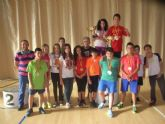 La concejal�a de Deportes llev� a cabo la entrega de trofeos de la fase local de multideporte, baloncesto, balonmano y futbol sala, de Deporte Escolar - 13