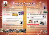 Del 7 al 13 de junio Cañada de Gallego celebra sus fiestas en honor a San Antonio
