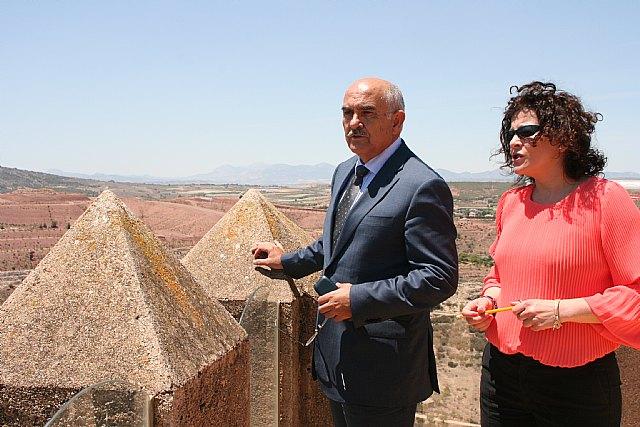 Garre anuncia que el yacimiento arqueológico de ´La Bastida´ recibirá un empuje económico para poder abrirlo al público, Foto 2
