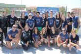 140 escolares se inician en la práctica del buceo y descubren la importancia de los fondos marinos de la Bahía de Mazarrón