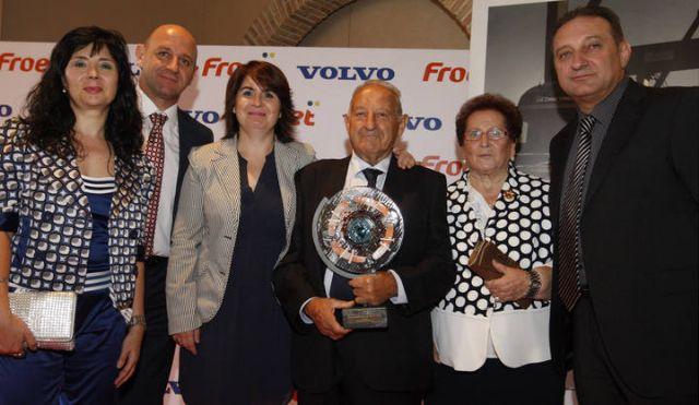 La empresa totanera Autocares Martínez es galardonada en la XII edición de los premios FROET, Foto 1