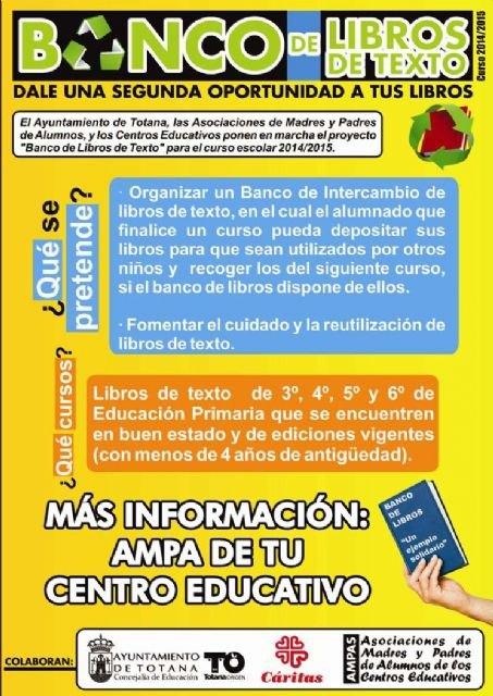 El ayuntamiento, las AMPAS y Cáritas ponen en marcha el proyecto Banco de libros de texto, Foto 2