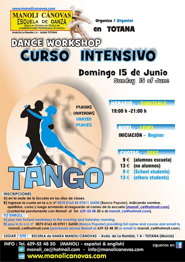 Cursos intensivos de TANGO y SALSA en Totana, Foto 1