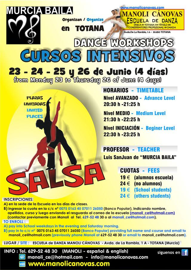 Cursos intensivos de TANGO y SALSA en Totana, Foto 2