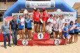 Emocionante final regional de voley playa de Deporte Escolar