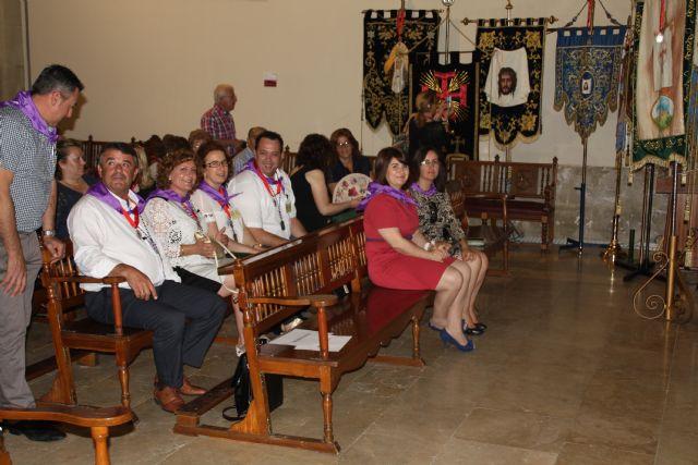 Autoridades municipales acompañan a la Hdad. de la Verónica al encuentro-peregrinación nacional de hermandades y cofradías de la Verónica, Foto 1
