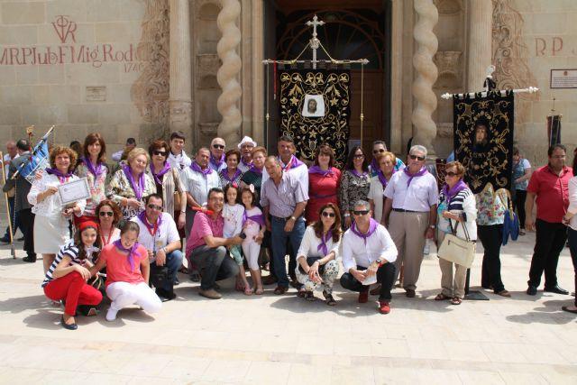 Autoridades municipales acompañan a la Hdad. de la Verónica al encuentro-peregrinación nacional de hermandades y cofradías de la Verónica, Foto 4