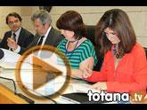 La alcaldesa de Totana subscribe un convenio con varias entidades para la creación y el desarrollo del Vivero de Empresas