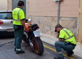 La Guardia Civil detiene al conductor de una motocicleta que triplicaba la velocidad m�xima permitida