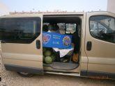 La Policía Local recupera 1.132 kg de sandías