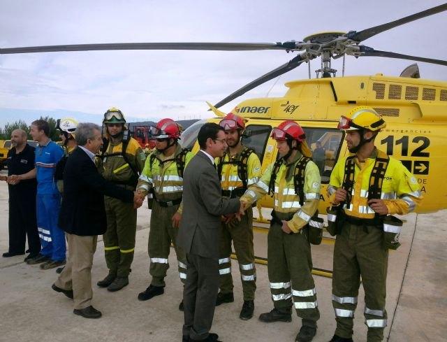 El Plan Infomur dispone de 443 personas para afrontar la temporada de peligro alto de incendio forestales