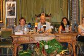 Francisco García preside como alcalde el primer pleno tras el cambio de gobierno