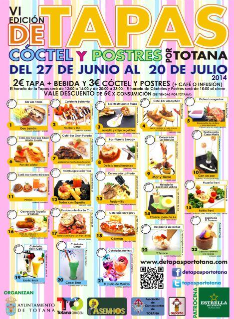 Hoy comienza la Ruta de la Tapa de las fiestas de Santiago 2014