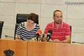 El ayuntamiento agradece a los estudiantes totaneros de la Universidad de Murcia la participaci�n en el Proyecto de Refuerzo Educativo - 2