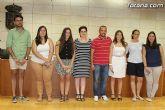 El ayuntamiento agradece a los estudiantes totaneros de la Universidad de Murcia la participaci�n en el Proyecto de Refuerzo Educativo - 9