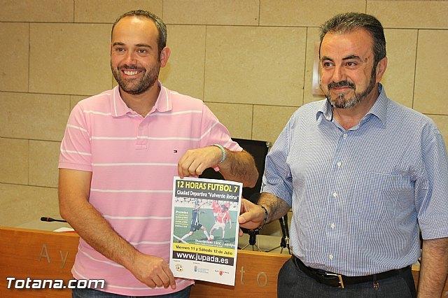 Las 12 horas de fútbol-7 Ciudad de Totana se celebrarán los días 11 y 12 de julio en la Ciudad Deportiva, Foto 1